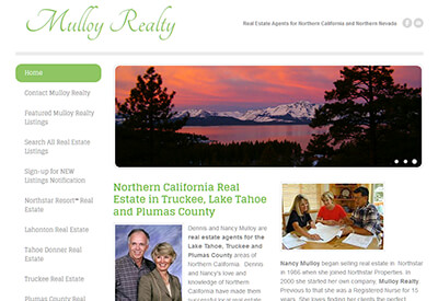Mulloy Realty Truckee California