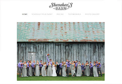 Shanahan's Barn Wedding Venue