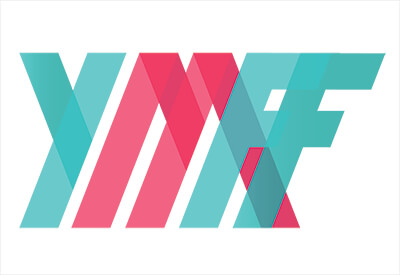 Young Michigan Filmmakers Festival logo with stylized Y-M-F-F