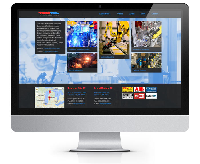 Trantek Web Design and Development